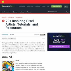20+ Inspiring Pixel Artists, Tutorials, and Resources