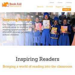 Inspiring Readers - Book Aid International