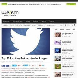 Top 10 Inspiring Twitter Header Images