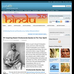 101 Inspiring Swami Vivekananda Quotes