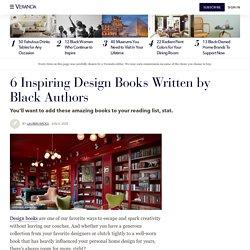 6 Inspiring Design Books Written by Black Authors