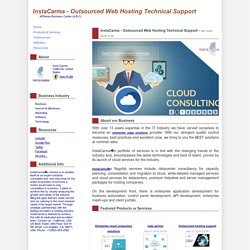 InstaCarma - Outsourced Web Hosting Technical Support