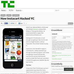 How Instacart Hacked YC