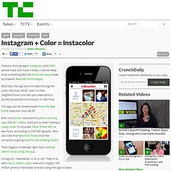 Instagram + Color = Instacolor