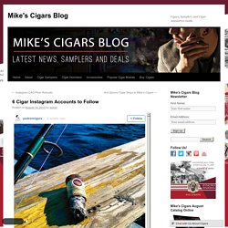 6 Cigar Instagram Accounts to Follow - Mike's Cigars BlogMike's Cigars Blog