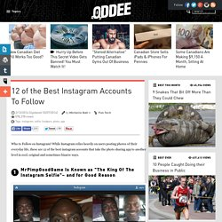 12 Unique And Cool Instagram Accounts To Follow (instagram, selfie, foodporn, photo, app