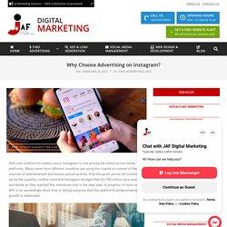 Instagram Advertising or Instagram Ads offered by JAF Digital Marketing