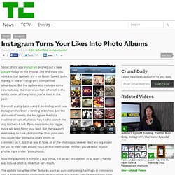 Instagram Turns Your Likes Into Photo Albums