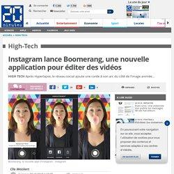 Instagram lance Boomerang, une nouvelle application pour éditer des vidéos