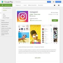 Instagram – Applications sur GooglePlay
