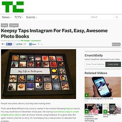 Keepsy Taps Instagram For Fast, Easy, Awesome Photo Books