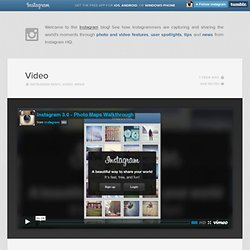 Launching instagram 3.0