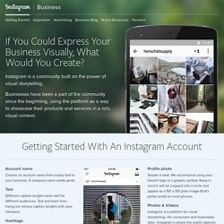 Getting Started – Instagram for Business