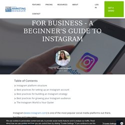 How to Use Instagram for Business - A Beginner's Guide to Instagram In 2021