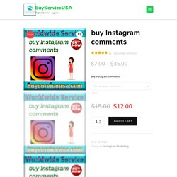 Buy Instagram Comments - Custom or Random Comments - Starting $5