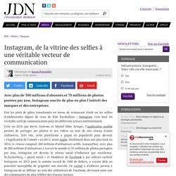 Instagram, de la vitrine des selfies à une véritable vecteur de communication