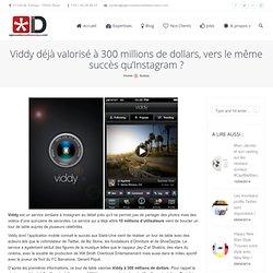 Viddy déjà valorisé à 300 millions de dollars, vers le même succès qu'Instagram ?