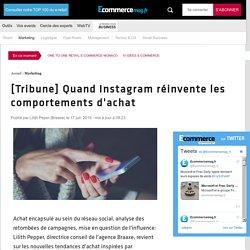 [Tribune]Quand Instagram réinvente les comportements d'achat