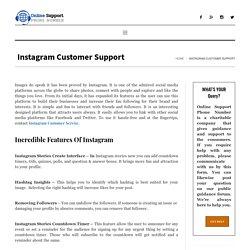 Instagram - Instagram Customer Service