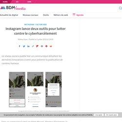 Instagram lance deux outils pour lutter contre le cyberharcèlement