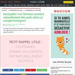 Poils des femmes : un compte Instagram ouvre la discussion sur l'épilation