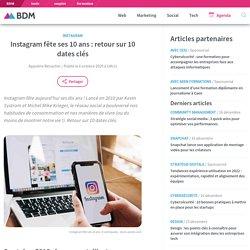 Instagram fête ses 10 ans : retour sur 10 dates clés
