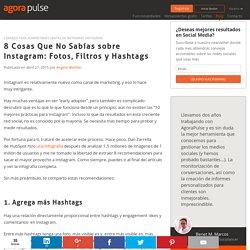 Instagram: 8 Datos Clave sobre Fotos, Filtros y Hashtags