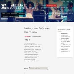 Instagram Follower kaufen - Echte Follower - Premium Follower
