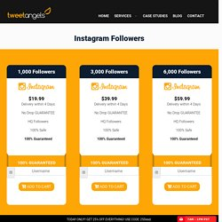 Get Real Targeted Instagram Followers - TweetAngels