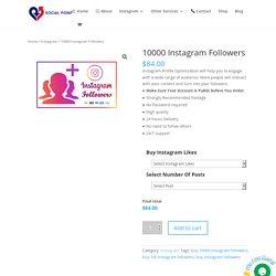 Buy 10000 Instagram Followers Cheap-Instagram Marketing Package