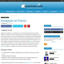 Instagram en France