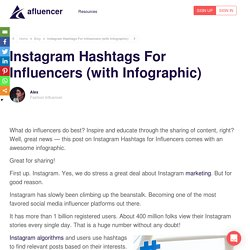 Instagram Hashtags for Influencers