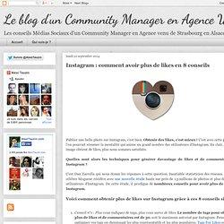 Instagram : comment avoir plus de likes en 8 conseils