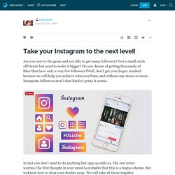 Take your Instagram to the next level!: babar2020 — LiveJournal