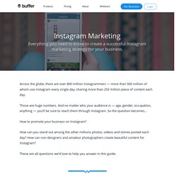 Instagram Marketing: The Complete Guide to Instagram for Business