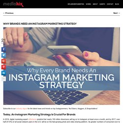 Why Every Brand Needs An Instagram Marketing Strategy