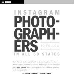 Instagram Photographers to Follow in All 50 States