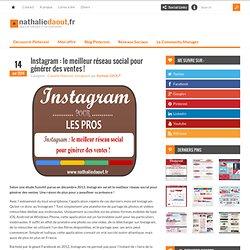 Instagram : le meilleur réseau social pour générer des ventes !