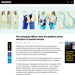 The Instagram Effect: How the platform drives decisions at fashion brands