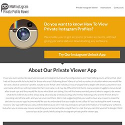 Instagram Private Profile Viewer Online