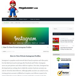 Find Out How To View Private Instagram Profiles Instantly!