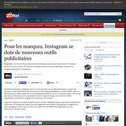 Pour les marques, Instagram se dote de nouveaux outils publicitaires