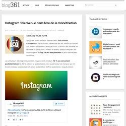 Instagram s'ouvre à la publicité