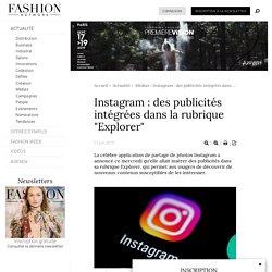 """Instagram : des publicités intégrées dans la rubrique """"Explorer"""" - Actualité : Médias (#1114023)"""