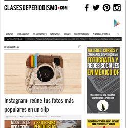 Instagram: reúne tus fotos más populares en un clip