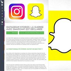 Instagram Stories: la guerre avec Snapchat est déclarée