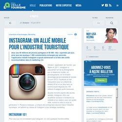 » Instagram: un allié mobile pour l'industrie touristique