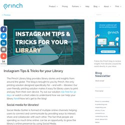 Instagram Tips & Tricks for your Library