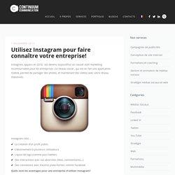 Instagram, pour tous types d'entreprise?