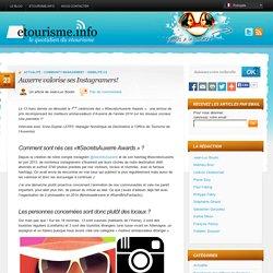 Auxerre valorise ses Instagramers!